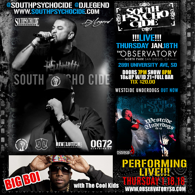 South Psycho Cide Live With Big Boi From Outkast
